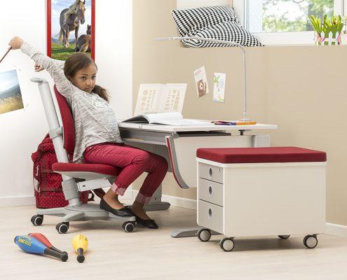 Mobilierul moll - alege ergonomia pentru copilul tau