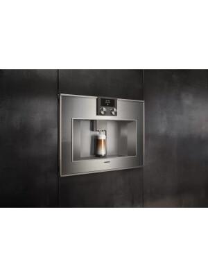 Espressor incorporabil complet automat Gaggenau, seria 400, inox, CM450112