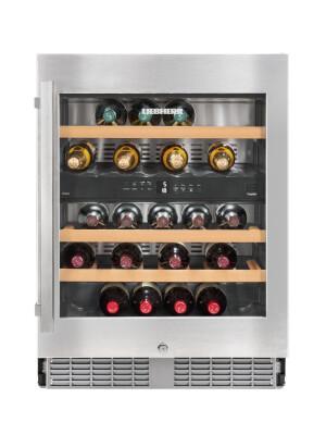 Vitrina de vin incorporabila Liebherr Premium UWTes 1672, 34 sticle, 94 l, B