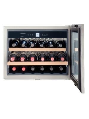 Vitrina de vin incorporabila Liebherr Premium WKEes 553, 18 sticle, 46 l, A