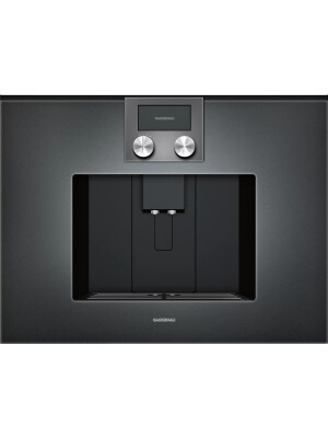 Espressor incorporabil complet automat Gaggenau, seria 200, antracit, CMP250102