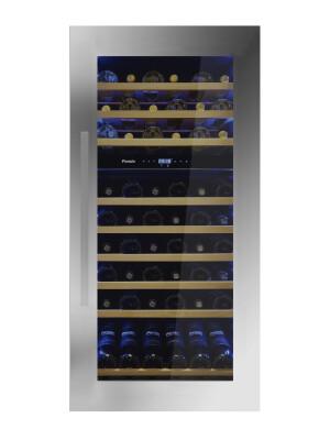 Vitrina de vin incorporabila Pando PVMAV 124-72, 72 sticle, 203 l, A