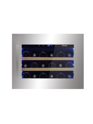 Vitrina de vin incorporabila Pando PVMAV 45-18, 18 sticle, 45 l, A