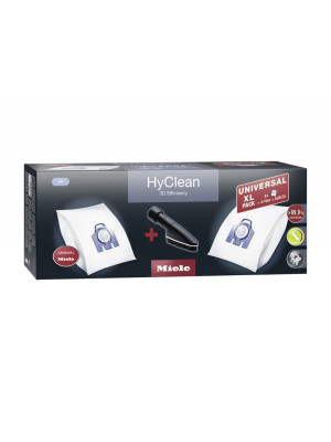 Set saci Miele Universal Pack XL GN HyClean 3D + perie SUB 20
