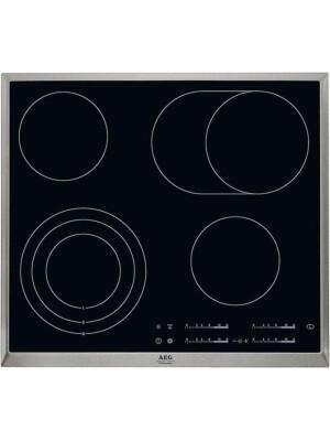 Plita incorporabila vitroceramica, AEG, HK365407XB, 60 cm