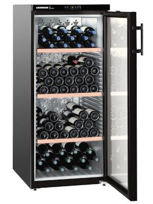 Vitrina de vin Liebherr Premium WKb 3212, 164 sticle, 309 l, G