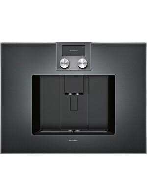 Espressor incorporabil complet automat Gaggenau, seria 400, antracit, CM450102