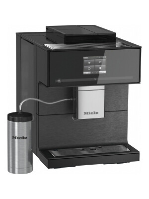 Espressor freestanding Miele CM 7750, Negru Obsidian
