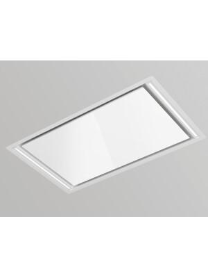 Hota la nivelul plafonului Pando E-297 V.1130, latime 95 cm, clasa A+, otel inoxidabil, negru sau alb