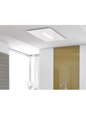 Hota la nivelul plafonului Pando E-240, latime 116 cm, clasa A, otel inoxidabil Backlit