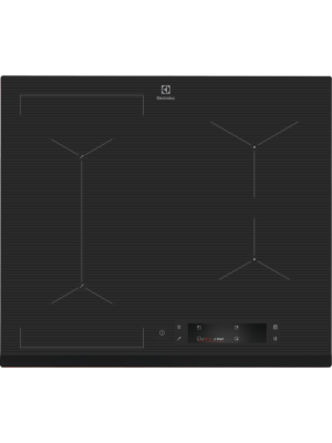 Plita cu inductie Electrolux EIS6648, Gri inchis