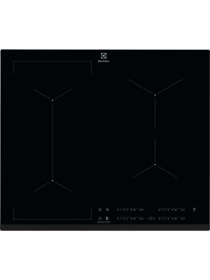 Plita cu inductie Electrolux EIV634, Negru